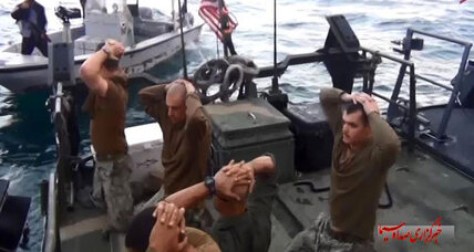 Iran's capture of US sailors shows how it is acting better – and worse (+video)