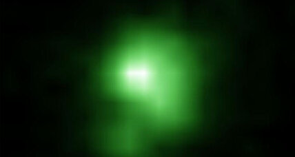 What a tiny green galaxy reveals about the mysteries of the cosmos