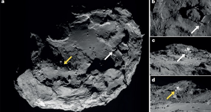 European space probe finds water on surface of comet