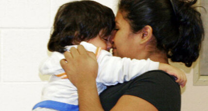 Border patrol reunites mother with baby, ordeal highlights migrant perils