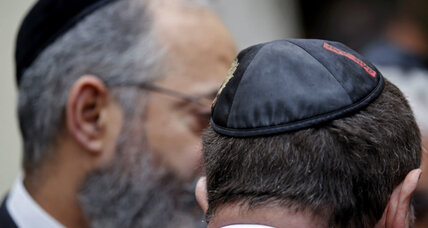 Remove religious garb? 'Kippa debate' in France sends defiant message