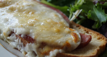 Croque monsieur tartine