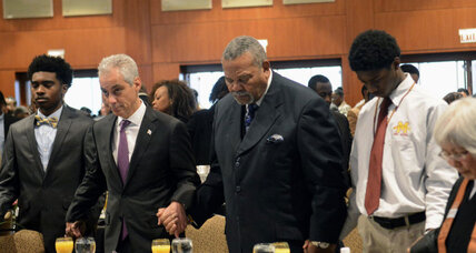 Why Chicago's black pastors boycotted an MLK day breakfast