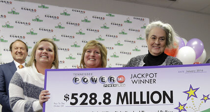 Tennessee lottery winner: A firm believer in tithing at church