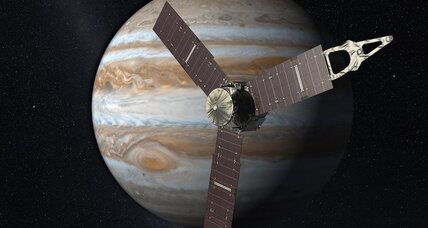 NASA's Juno probe breaks solar-powered distance record
