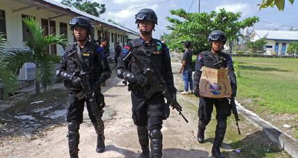 Indonesia identifies militants, arrests others over attack