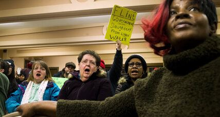 Why Obama's action in Flint fuels protests against Michigan governor (+video)