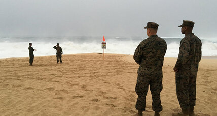 High surf complicating Hawaii search for missing Marines