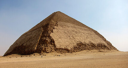 Can cosmic particles in pyramids solve the mystery of how they were built?