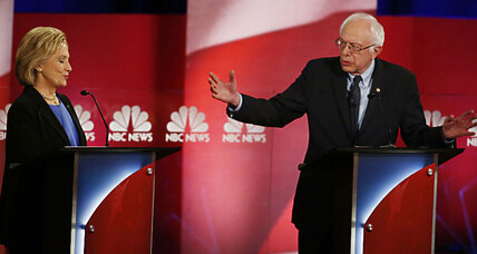 Democratic Party debate: Sanders' passion vs. Clinton's pragmatism