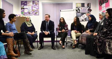 Why David Cameron's English language requirement hits Muslim immigrants