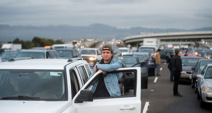 Why did Black Lives Matter protesters shut down the Bay Bridge? (+video)