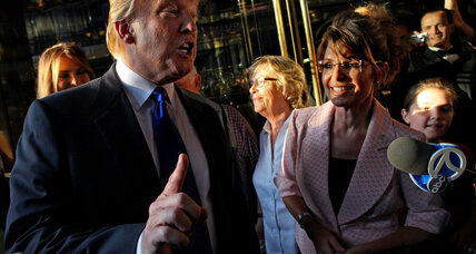 Would Trump gain or lose from Sarah Palin support?