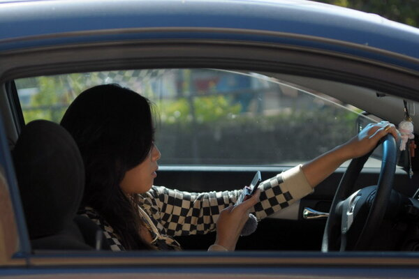 The serious problem of distracted driving