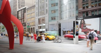 New York City's first free phone-booths-turned-Wi-Fi hubs go live