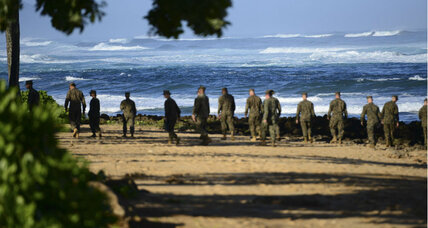 Coast Guard suspends search for missing Marines off Hawaii