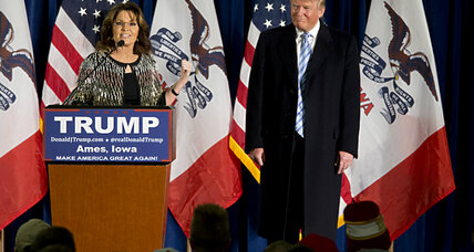 Why Sarah Palin's endorsement of Trump makes sense