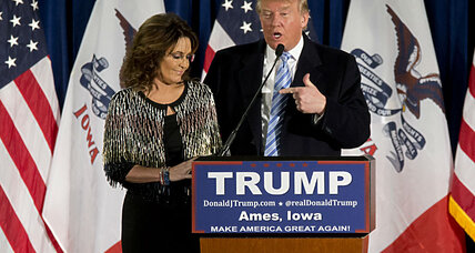 What role would Sarah Palin play in a Trump administration?