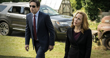 What do Anderson and Duchovny say about the legacy of 'The X-Files'?
