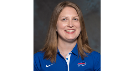 Historic hire: How Bills' Kathryn Smith paves the way for women in the NFL