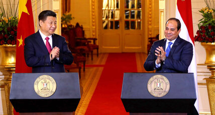 China, Egypt sign $17 billion in investment deals as Xi tours Mideast