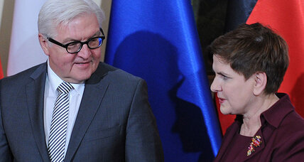 Germany and Poland seek to diminish tensions with talks
