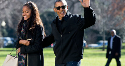 Obama says he is 'going to cry' at Malia's high school graduation