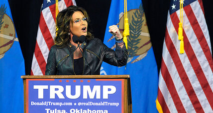 Is Sarah Palin justified in using son's arrest to attack Obama's vets record?