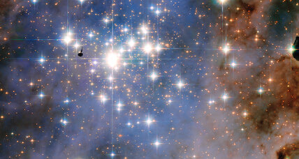 Hubble spots 'dazzling diamonds' in space