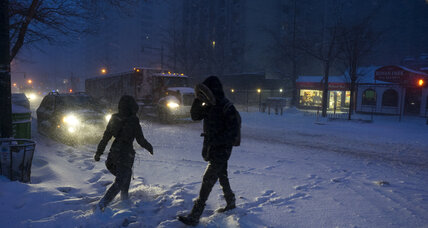 Millions on East Coast awake to more snow