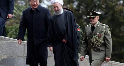 Sanctions now lifted, China seeks 'new chapter' with Iran