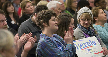 Feeling the Bern: Why voters are turning to Sanders