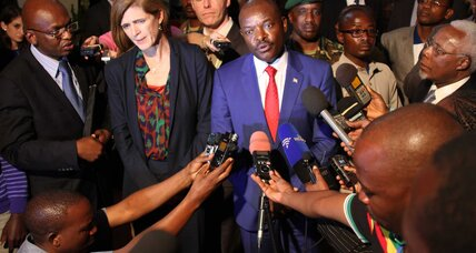 US urges African leaders to sway Burundi on peacekeepers