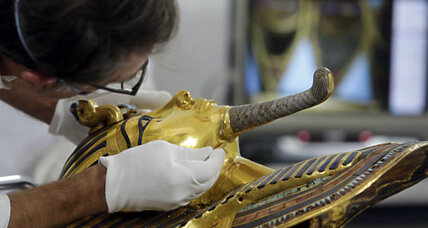 Eight Egyptian museum officials face trial over King Tut's broken beard