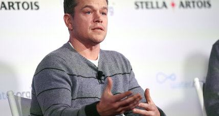 Matt Damon says Hollywood must do more to support diversity