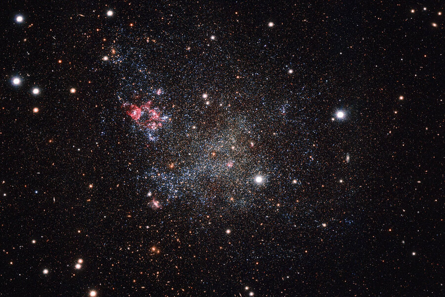 Why scientists are calling this dwarf galaxy a 'clean freak'