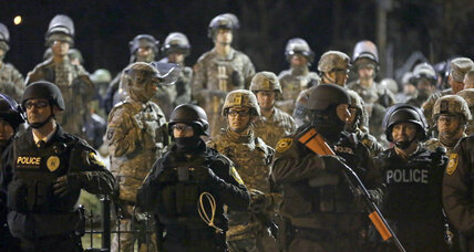 In Ferguson, Mo.,a tentative police reform deal