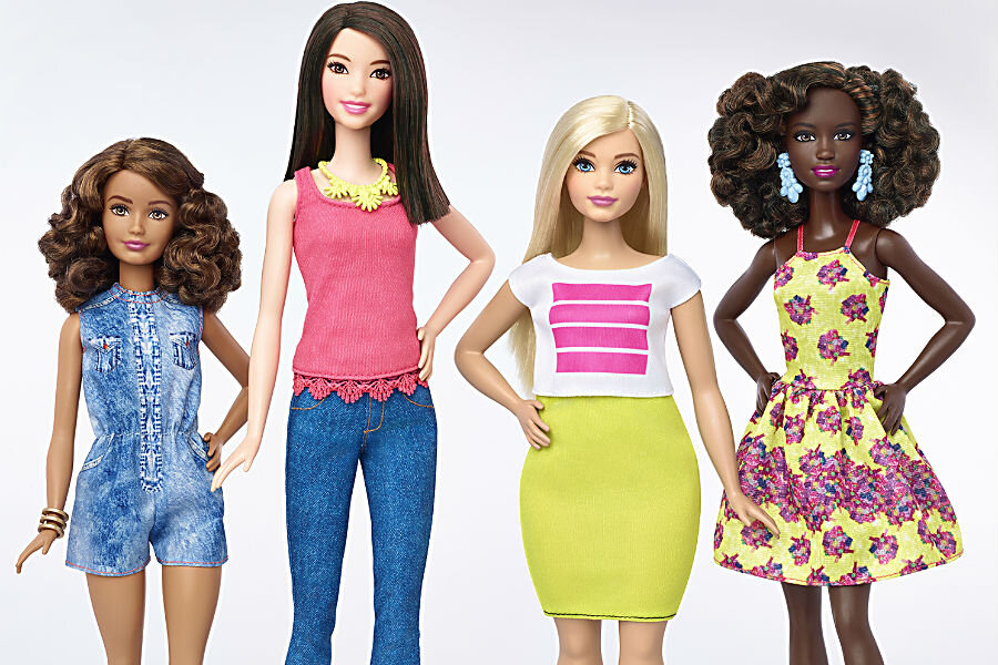 Are bigger and smaller Barbies better for the self-image of girls?