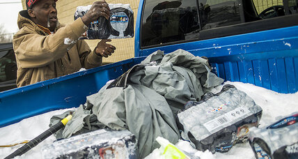 Flint's newest challenge: a flood of plastic bottles (+video)