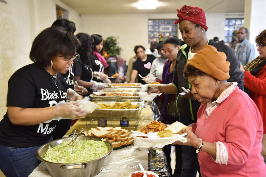 Image result for serve food homeless