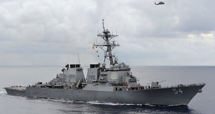 China protests after US warship sails through South China Sea