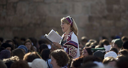 In a historic deal, women can now pray with men at the Western Wall