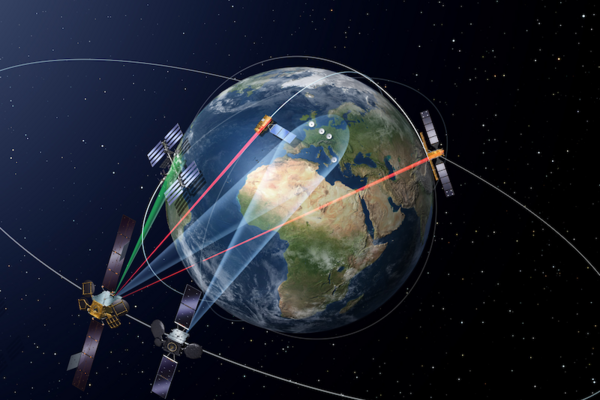 Europe Launches Space Laser Data Satellite CSMonitorcom - Current satellite