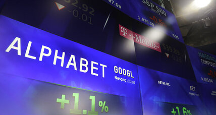 Alphabet comes before Apple as world's most valuable company