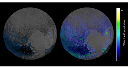 Is Pluto an even icier world than previously thought?