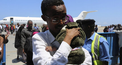 Explosion forces plane to make emergency landing in Somalia