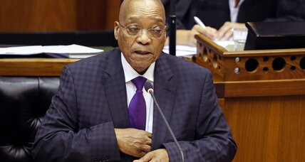 South Africa's president seeks to repay funds used for home upgrade