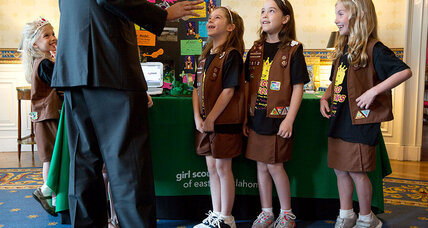 For transgender 9-year-old, a very Girl Scout lesson