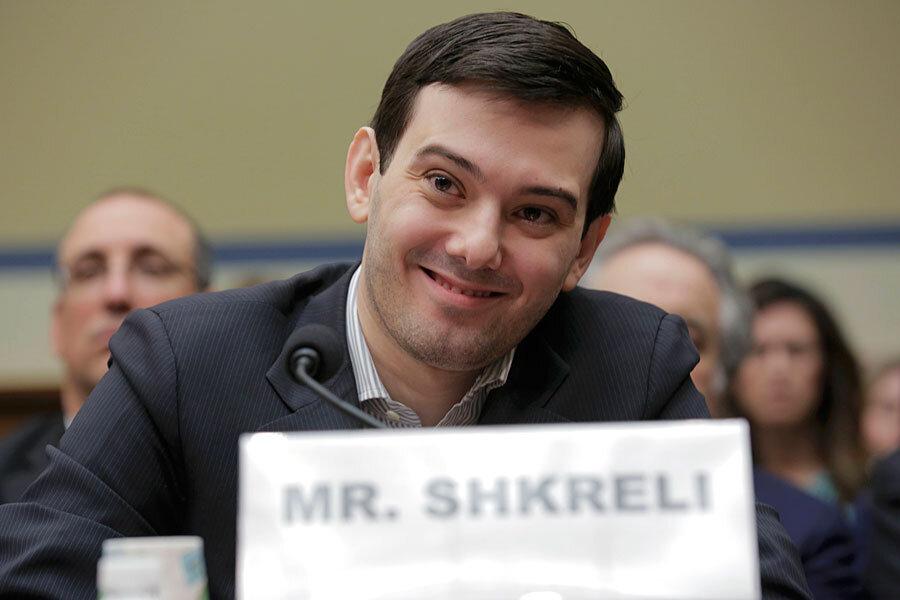 'Pharma bro' Martin Shkreli smirks and stays silent before Congress
