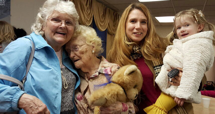 Florida woman reunites with her birth mother after 82 years apart